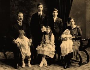 The Micaletti Family circa 1920